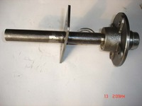 Stub Axle (round spindle)