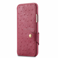 Top products accessories for iphone x peacock genuine leather flip case for cell phone wallet card case