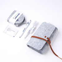 Disposable personal care active custom leisure travel/hotel kit/ bag for women