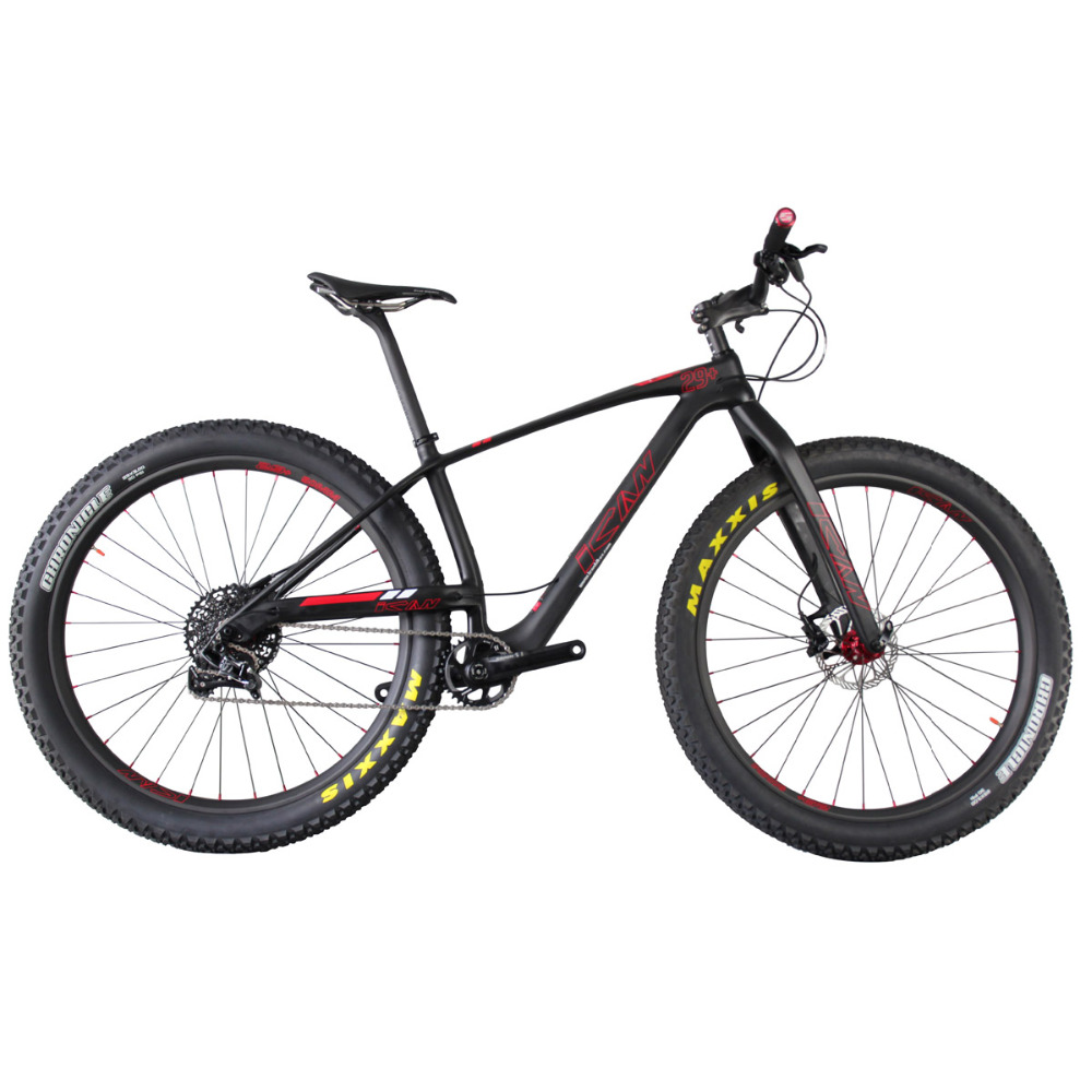 2016 29er plus mtb carbon fulling complete x1 group set frame and wheels 17inch bicycle with 3.0 maxxis tires