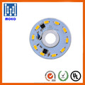 220V 5W customized round smd led aluminum pcb board module for led light fixture