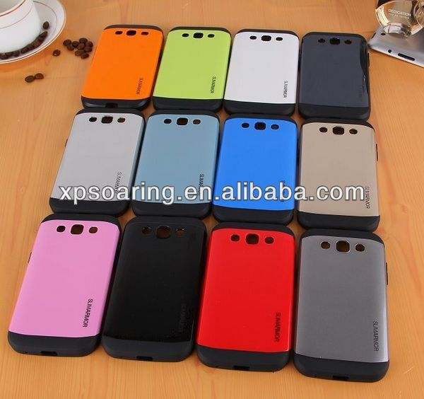 Fashion hybrid 2 in 1 case back cover for Galaxy Win i8552