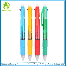 Custom School & Office Friction Erasable Multi Color Ink Pen
