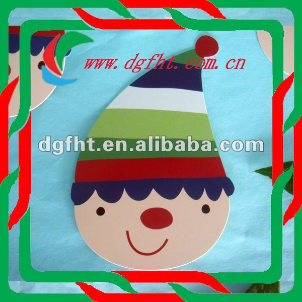 decorative christmas window stickers and declas