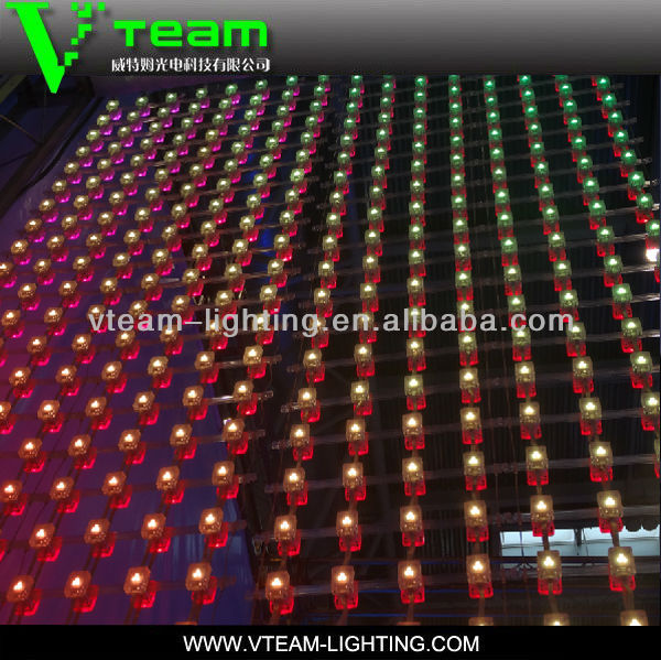 P110mm Mahjong advertising soft mesh led screen