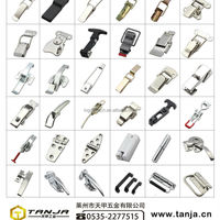 Hardware Toggle Latch Horizontal Clamp Metal