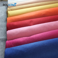 1mm 2mm 3mm colorful polyester adhesive felt