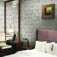 BLW2080 vinyl wallpaper 3D brick design wallpaper