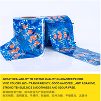 -18 degree frozen available beverage package film in roll NYLON + PE material EU standards