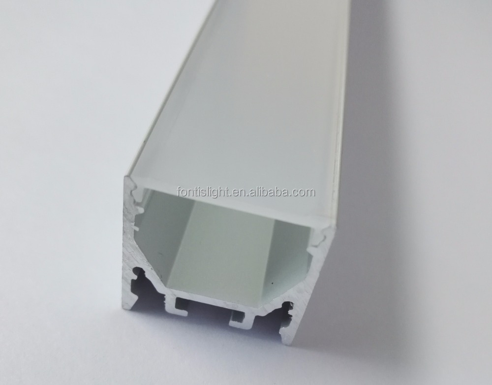 2018 trending promotion products LED <strong>Aluminum</strong> profile with Opal PC Cover can Embedded/suspended light
