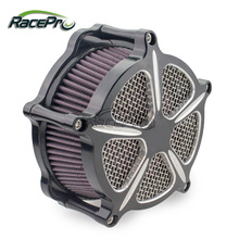 Cut Air Intake Filter For Harley Sportster 1200 883 48 1991-2014
