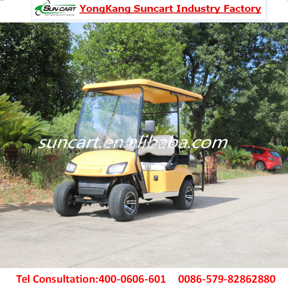 good quality 4 Paseenger Electric golf cart,new design airport cart, cheap utility car