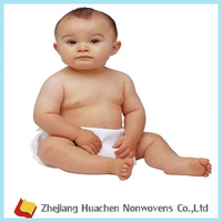 HC Non Woven Fabric Material Nonwoven for Babies Age Group For Baby Diaper