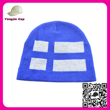 Custom Made jacquard weave skin hat Unisex World Cup Slouchy 100% polyester custom patch winter beanies hat