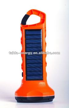 Rechargeable emergency light led solar yard light