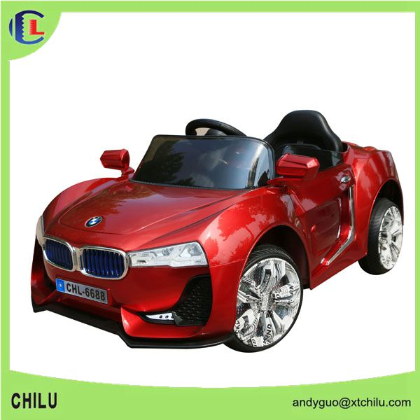 12V plastic red electric ride on toy car for girls/small ride on toy car to sale