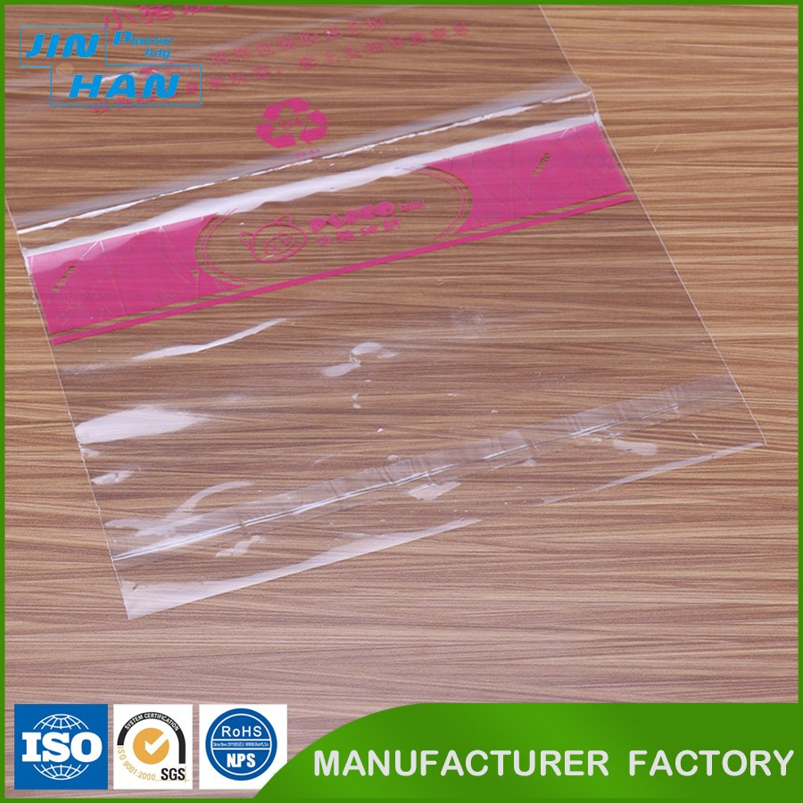 Accept Custom Order Transparent 60 Microns Plastic LDPE Bag