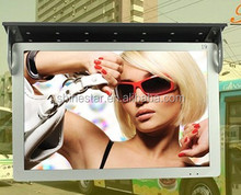 "24"" inch 3G wifi wireless network bus digital ad display LED media player"