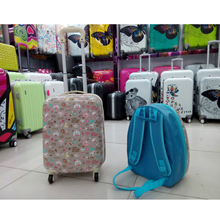 Hot Selling Cute Cartoon Kids Trolley School Bags For Girls