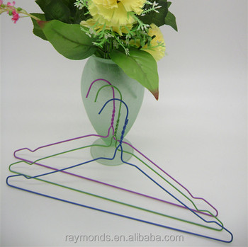 Dry cleaning use plastic coat hanger