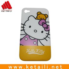 silicone mobile phone case beautiful hello kitty design phone cover