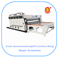 carton box printing machine small special carton box making machine
