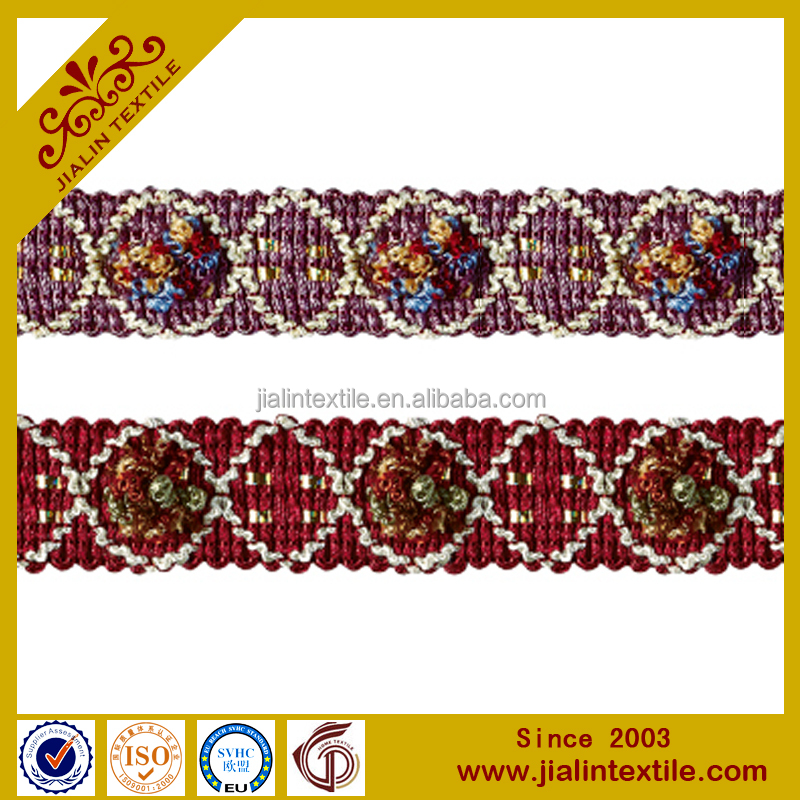 sofa curtain fringe 2.5cm lace trims