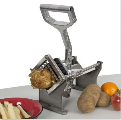 WPF -20 commercial potato chips cutter/fresh potato chips cutter machine