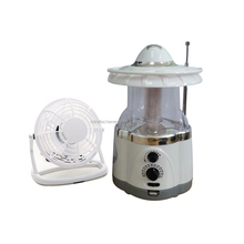 Solar Led Lantern Lamp With radio
