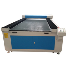 High quality cnc co2 laser cutting machine for leather fabric cloth textile LM-1325