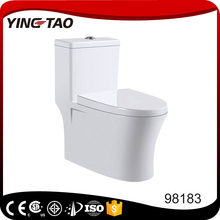 Bathroom ceramic one piece siphonic wc toilet seat closet online shopping india