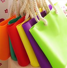 Hot Selling Fancy Waterproof Eco-Friendly Silicone Shoulder Bag