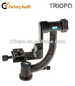TRIOPO professional aluminum Gimbal head DG-1 camera tripod hang head