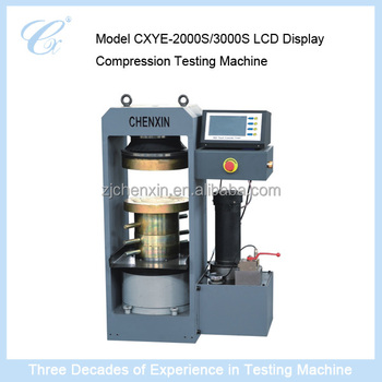 Price Computer Controlled Electro-hydraulic Servo Compression Testing Machine