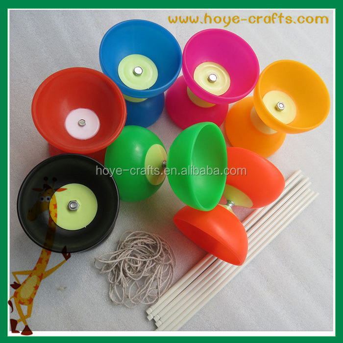 Wholesale cheap outdoor toys diabolo chinese YoYo with handsticks