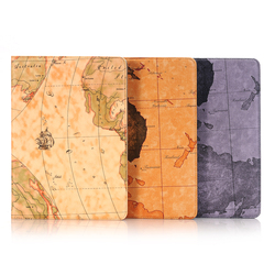For Apple iPad Pro 9.7 Map pattern Leather Case, Flip Case For Apple iPad Pro 9.7