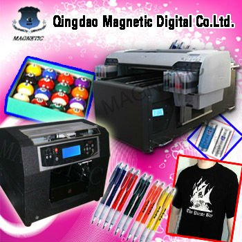 computer direct imaging canvas and t-shirt printing machine