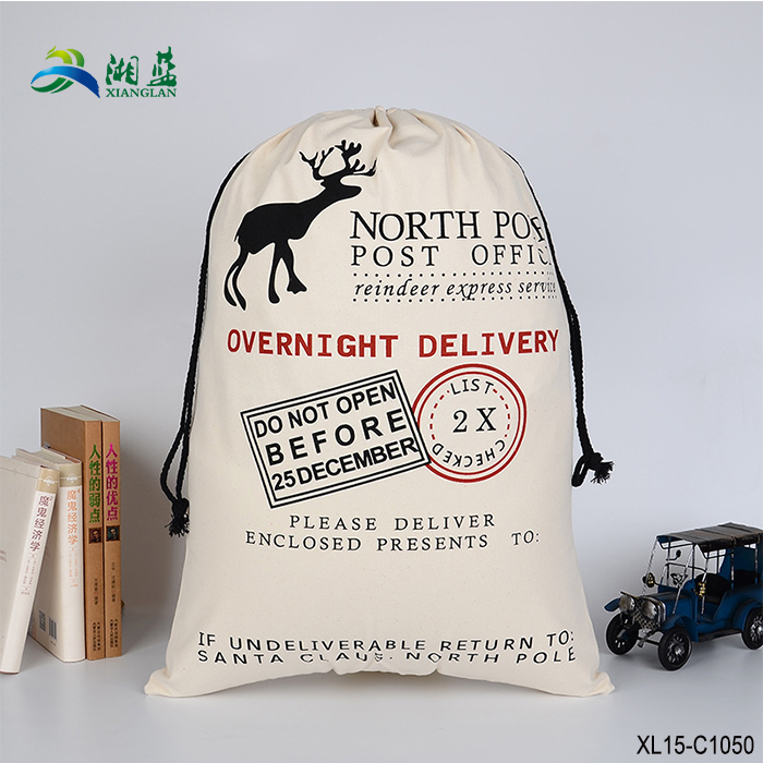 Christmas <strong>decoration</strong> 2018 high quality cotton flour bag/sack prim decor bread sack country decor vintage feed sack