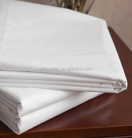 high count and high density plain white cotton fabric