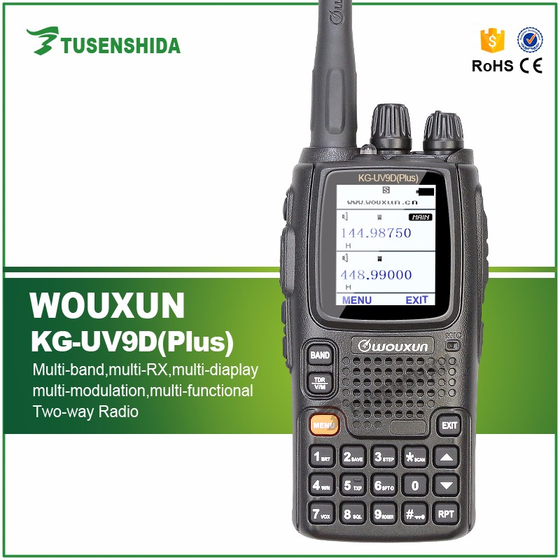 Baofeng Wouxun KG-UV9D Multi-Band 7Bands UHF/VHF Portable Two Way Radio mobile phone transceiver HAM Walkie Talkie