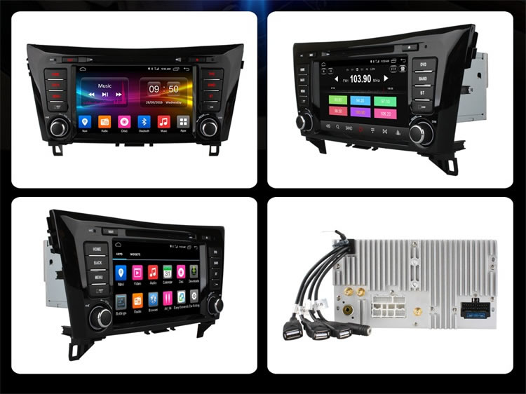 Ownice C500 2G Ram auto radio for Nissan X-Trial 2014-2015 Built in DVD 4G LTE support rear camera TPMS DAB DVR