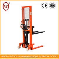 3000 kg widely use 2Ton Hydraulic Forklift Straddle Forklift hand stacker
