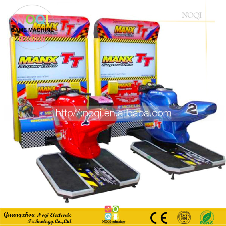 Low price bike racing games coin operated Max TT motorcycle simulator for game center