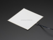 high brightness 10*10cm el backlight/el sheet/blank el panel for advertisement