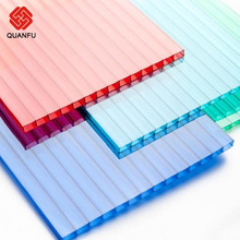 Best quality fashion style cheap building materials Double layer polycarbonate sheets