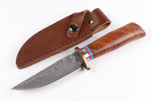OEM Damascus knife Pakistan fixed knifes survival hunting knife