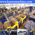 Plastic bottles recycling plant