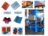 KB-125C Super profitable concrete roof tile machine/low price tile machine