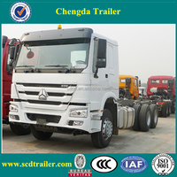 popular 420hp Shacman 10 wheeler tractor trucks EURO 3 for cargo