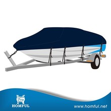 Waterproof Canvas 600D Marine Grade Polyester Boat Trailer Cover